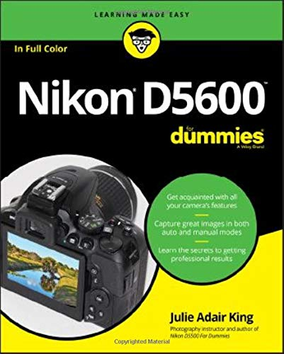 Download Nikon D5600 For Dummies (For Dummies (Computer/Tech)) 1119386330