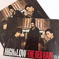 HiGH&LOW THE RED RAIN ポストカード