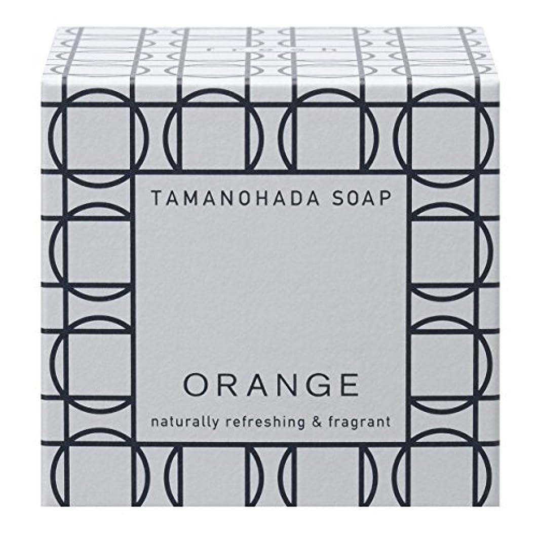 ベンチャー被害者薄暗いタマノハダ ソープ 001 オレンジ 125g