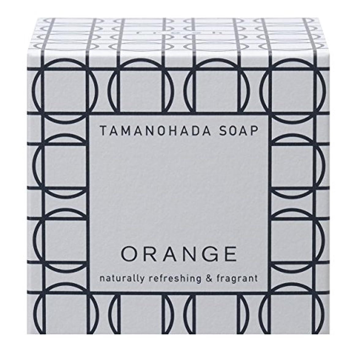 オーガニック魅力的イーウェルタマノハダ ソープ 001 オレンジ 125g