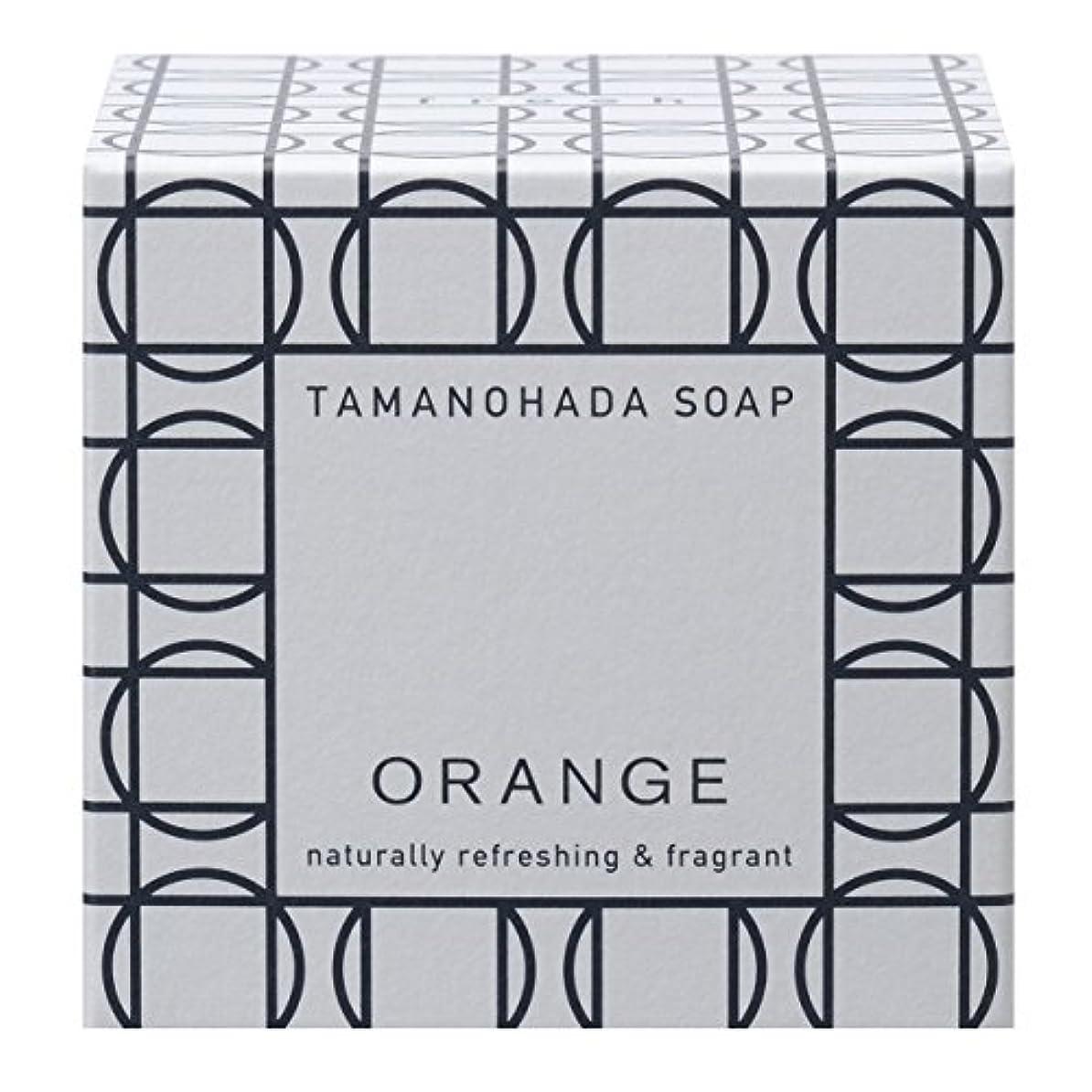 ベンチャー書くミネラルタマノハダ ソープ 001 オレンジ 125g