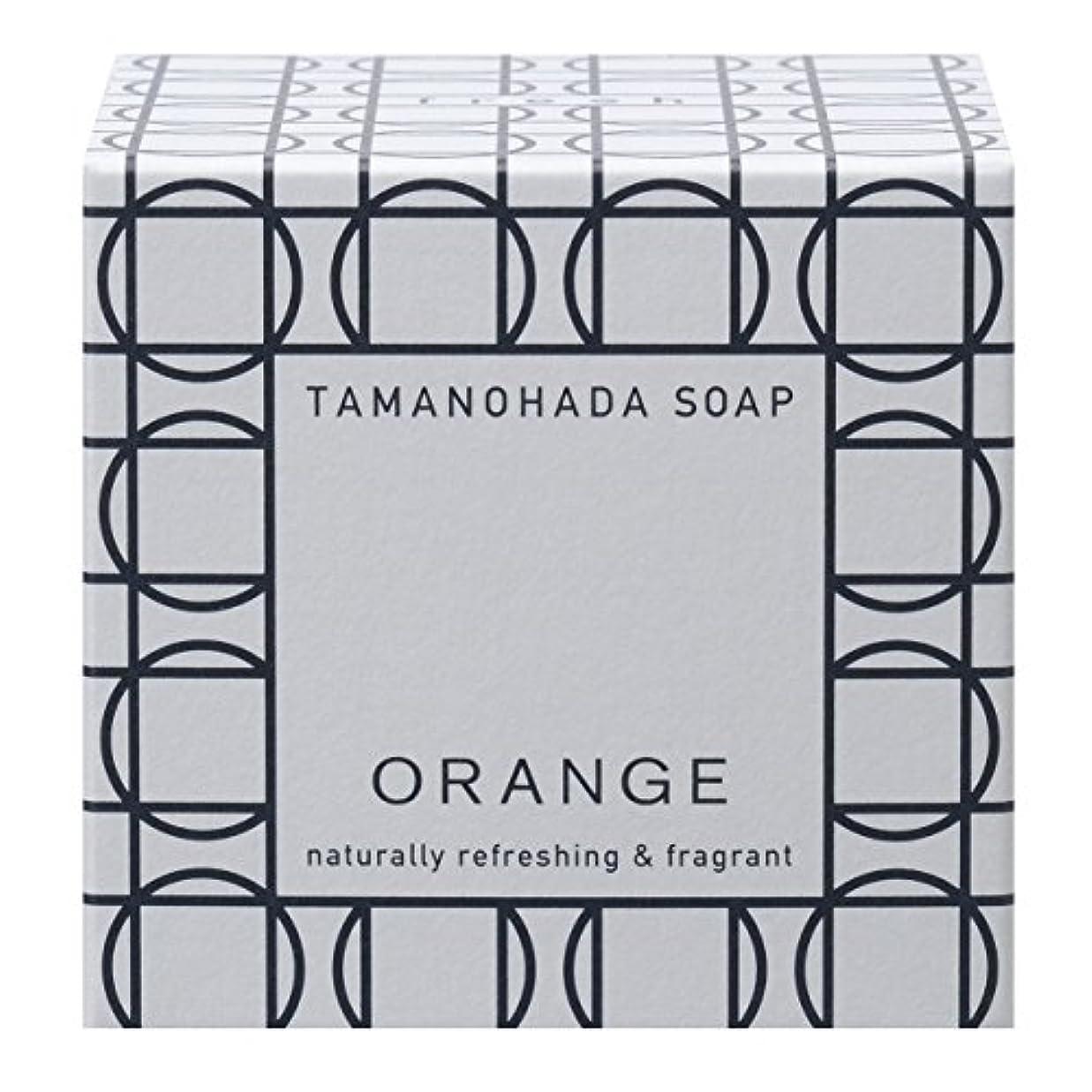 伝統的予防接種少年タマノハダ ソープ 001 オレンジ 125g