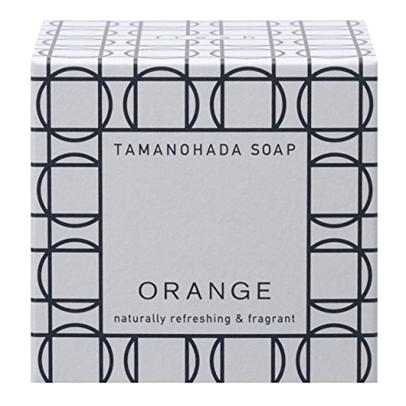 雹楽しむ星タマノハダ ソープ 001 オレンジ 125g