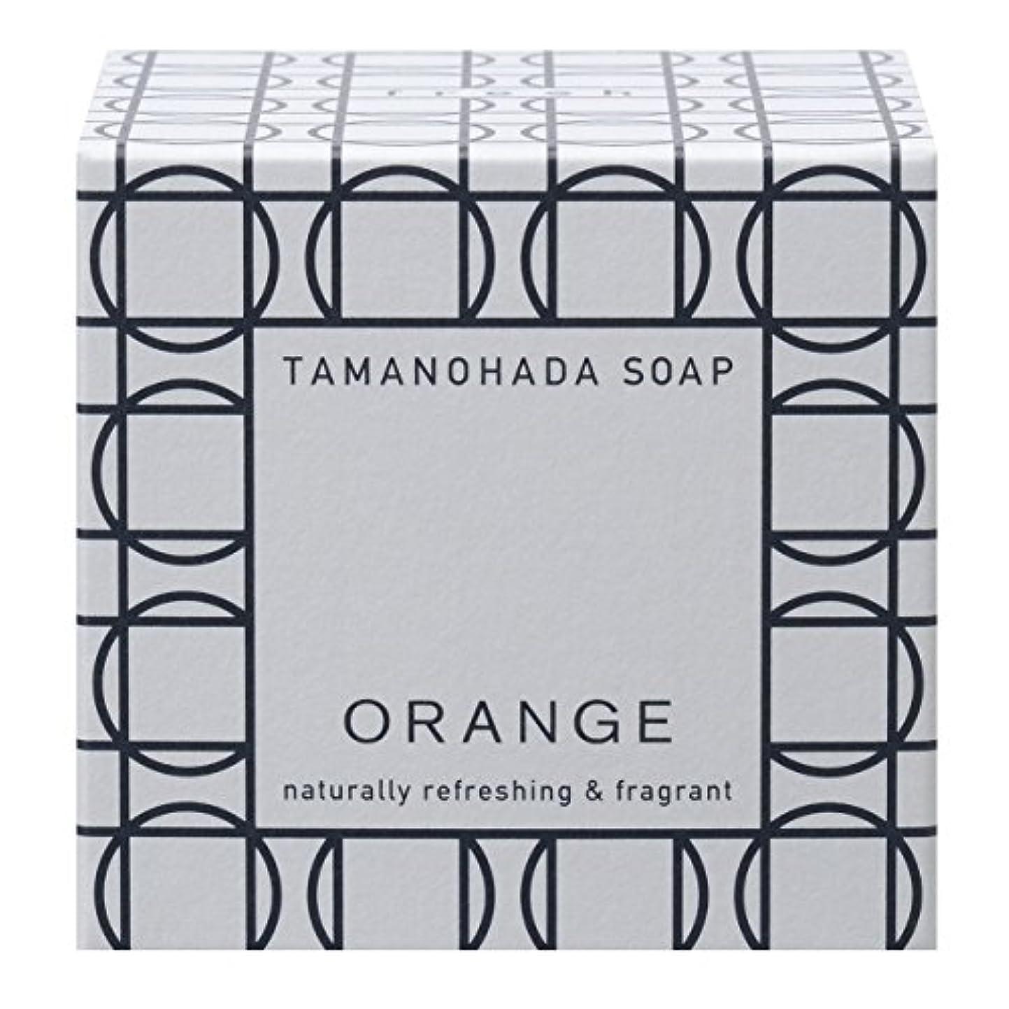クリーク行商人白菜タマノハダ ソープ 001 オレンジ 125g