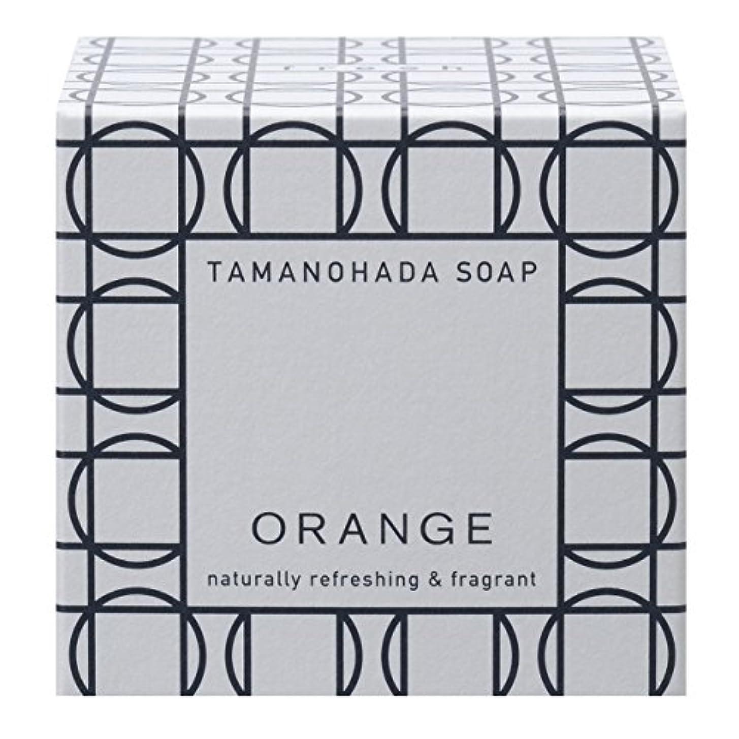報酬反対した中性タマノハダ ソープ 001 オレンジ 125g