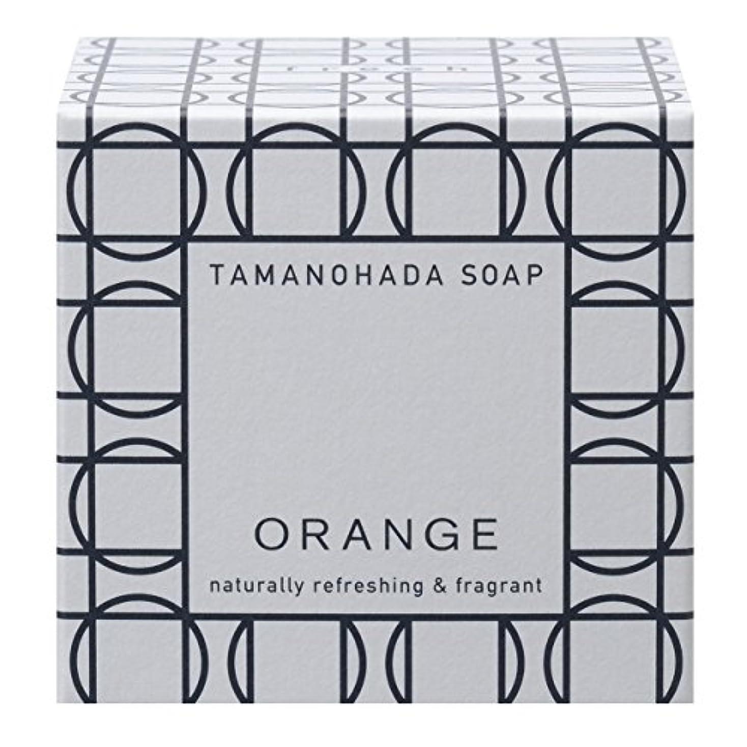 太い含む甘いタマノハダ ソープ 001 オレンジ 125g