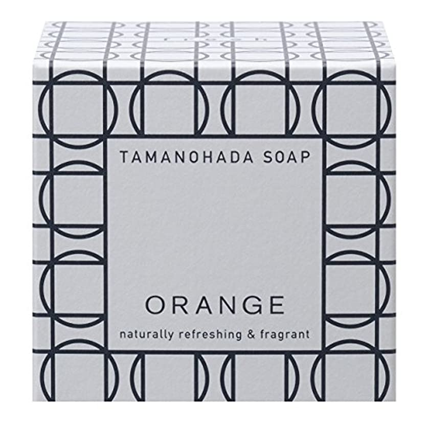 練るベッツィトロットウッド世代タマノハダ ソープ 001 オレンジ 125g
