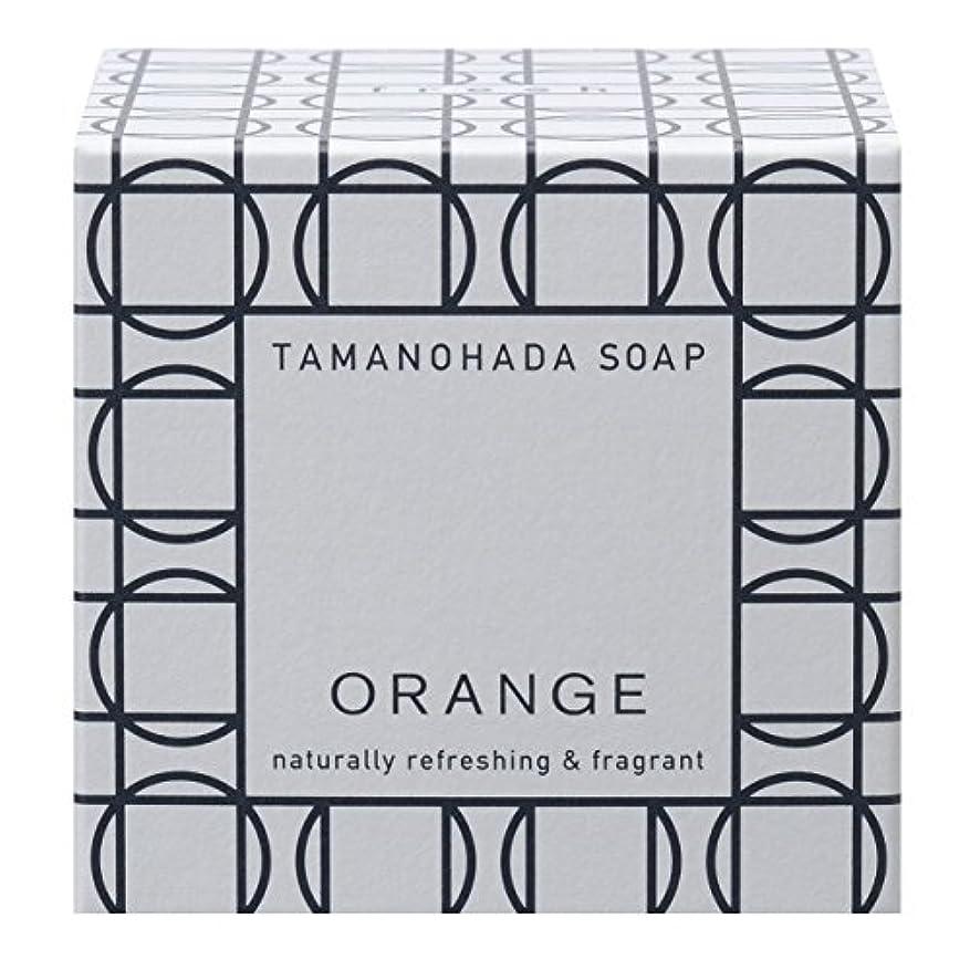 十代を通して評議会タマノハダ ソープ 001 オレンジ 125g
