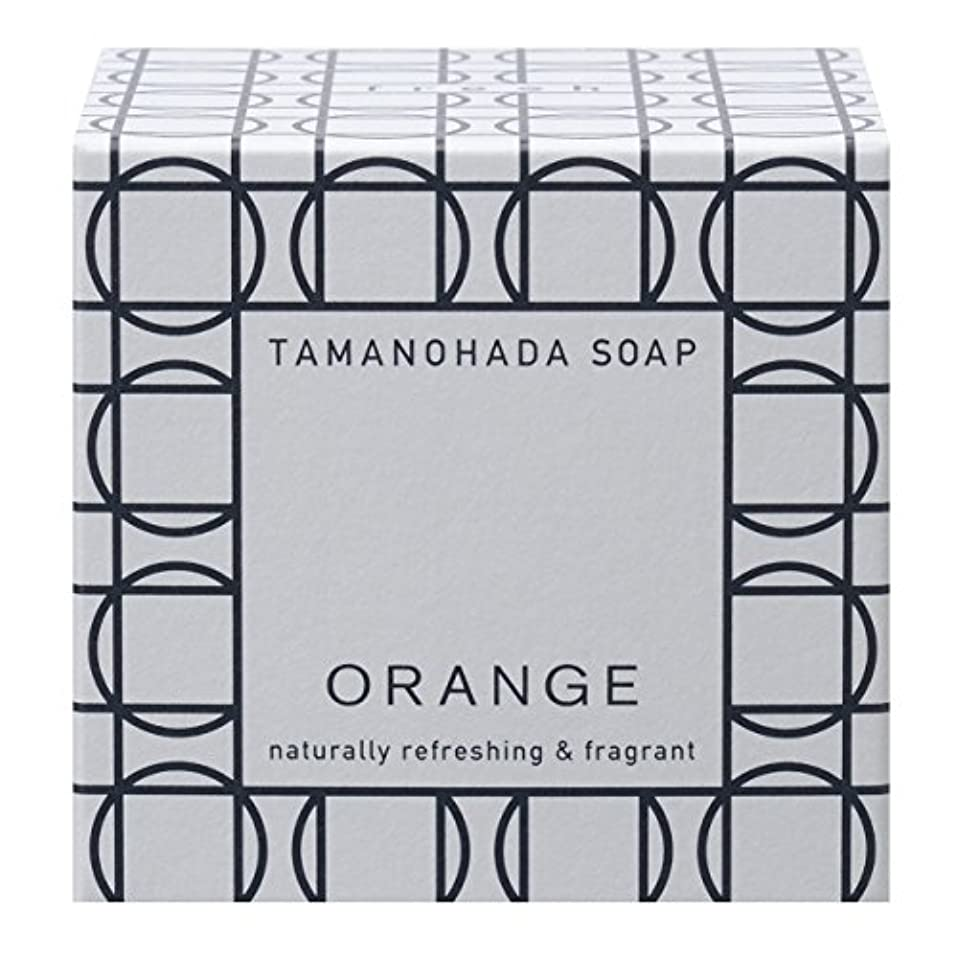 爬虫類不安定な免疫タマノハダ ソープ 001 オレンジ 125g