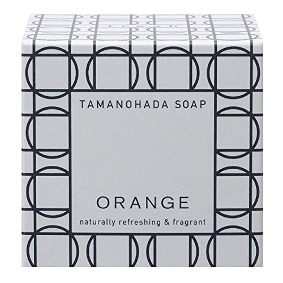 法的慈悲深い民主党タマノハダ ソープ 001 オレンジ 125g