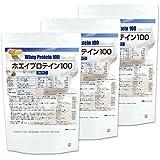 ホエイプロテイン100 1kg×3袋 無添加 プレーン味 NICHIGA(ニチガ)