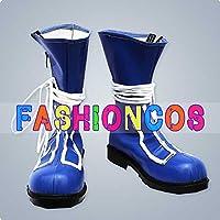 ★サイズ選択可★女性23.5CM UA0866 テガミバチ ラグ・シーイング コスプレ靴 ブーツ