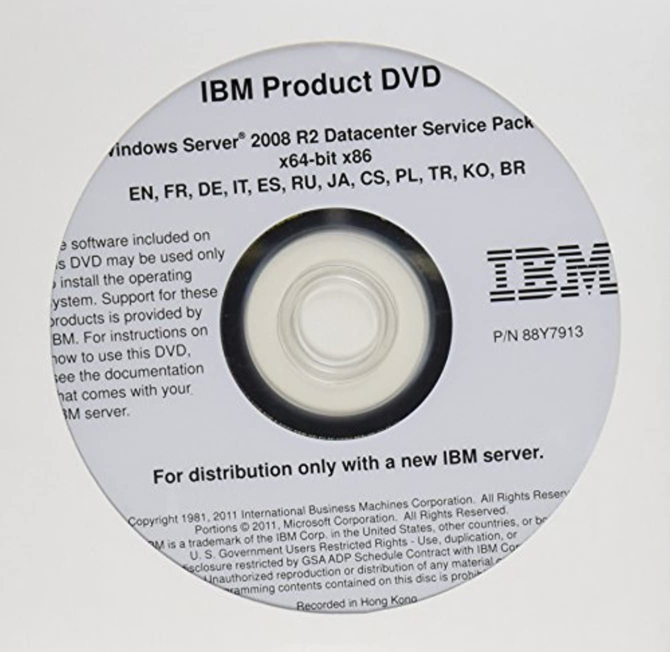 キリスト教美しい下にWindows Server 2008 R2 Datacenter (4CPU) IBM版