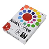 コピー用紙 A4 高品質マルチ用紙 白色度98% 紙厚0.106mm 500枚 インクジェット用紙