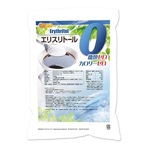 エリスリトール(erythritol) 4kg [02] 糖類ゼロ カロリーゼロ [希少糖 天然甘味料 糖質制限 砂糖代替甘味料] NICHIGA(ニチガ)