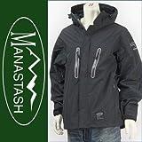 (マナスタッシュ) MANASTASH レイヤーシステム・パーカージャケット ウォータープルーフ・ブリーザブル・3レイヤファブリック ALTALAND LAYER PARKA 7112011-09 L