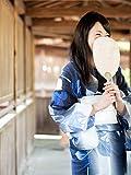 TAYU-TAFU(たゆたふ) 浴衣 レディース レトロ しじら織 フリー 紺×白