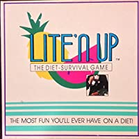 Vintage 1990 Lite'n UP The Diet Survival Board Game - The Most Fun You'll Ever Have on a Diet! [並行輸入品]