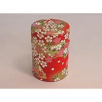 茶筒 友禅柄貼缶(12)40g用 お茶の保管、小物入れなどに