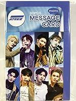 ATEEZ エイティーズ グッズ / フォト メッセージカード 30枚セット - Photo Message Card 30pcs [TradePlace K-POP 韓国製]