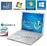 パナソニック Lets note CF-T7 /Core2Duo 1~2GBメモリ/各種OS/無線内蔵