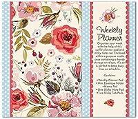 Vintage Blooms Weekly Planner