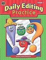 Daily Editing Practice, Grade 1: Grade 1