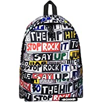 Men's Backpack Casual Canvas Rucksack Daypack School Gym Book bag Male Boys Sports Outdoor bag Fashion Print Backpack Rucksack Daypack, 25L Durable for Travel Casual School Gym Sports Camping Beach Bag backpack