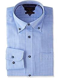 [タカキュー] m.f.Editorial 形態安定 スリムフィット ドゥエボタンダウンシャツ メンズ 110214619761833