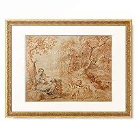 ピーテル・パウル・ルーベンス Peter Paul Rubens 「Ruhe auf der Flucht, 1633–1635」 額装アート作品