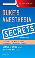 Duke's Anesthesia Secrets, 5e