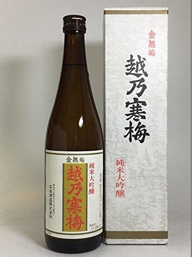 [越乃寒梅]金無垢(純米大吟醸)720ml