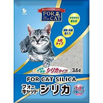 新東北化学工業 猫砂 フォーキャットシリカ 3.6L