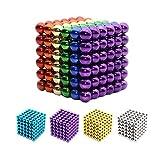 Yiteng 強力磁石の立体パズルマグネットボール216個セット5mm6色