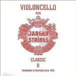 Jargar 4/4 Cello D String Thick(Forte) Chromesteel 【TEA】 [並行輸入品]