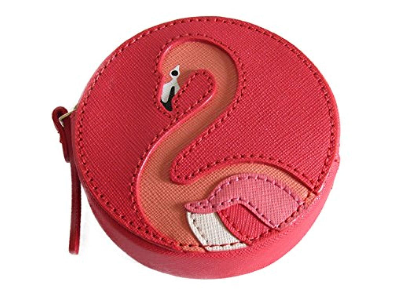 ケイトスペード 小銭入れ フラミンゴ kate spade Flamingo Coin Purse WLRU2522 Take a Walk on the Wild Side gream/mult [並行輸入品]