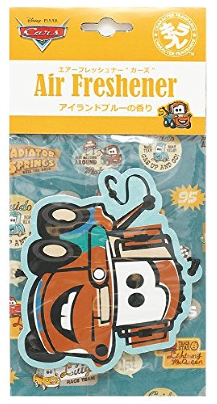 請願者ヤギ仮定するディズニー エアーフレッシュナー カーズ 吊り下げ アイランドブルーの香り DIP-94-02