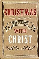 """""""クリスマスBegins With Christ """"ジャーナルBook"""