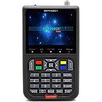 KKmoon デジタル衛星ファインダー 衛星信号メーター サテライトファインダー 3.5インチ LCD デジタル ディスプレイ