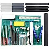 BXQINLENX Professional 33 PCS Gundam Model Tools Kit Modeler Basic Tools Craft Set Hobby Building Tools Kit for Gundam Car Mo