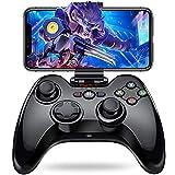 iPhone コントローラー Bluetooth 接続 無線 ワイヤレス Pro プロ [メーカー3年保] PXN 専属無料APP ゲームパッド プロコン コントローラ Apple MFI認証 日本MIC認証 iPad iPod touch 対応 PUBGに非対応 黒 GWorld