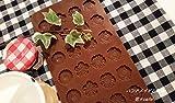 5mm厚チョコレート型。シリコンモールド バラ 菊 梅 など4種類が作れます。 ケーキやアイスなどのデコレーションチョコの製作に!レジンなどのハンドメイドにも! シュガークラフト粘土 押し型・抜き型 ...