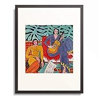 アンリ・マティス Henri Matisse 「音楽」 額装アート作品