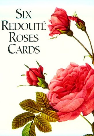 Six Redouté Roses Cards (Small-Format Card Books)