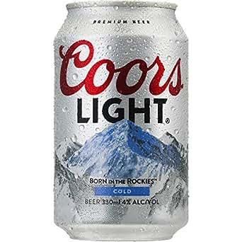 ビール クアーズライト 缶 330ml×24本