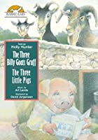 The Three Billy Goats Gruff/The Three Little Pigs Told by Holly Hunter【DVD】 [並行輸入品]