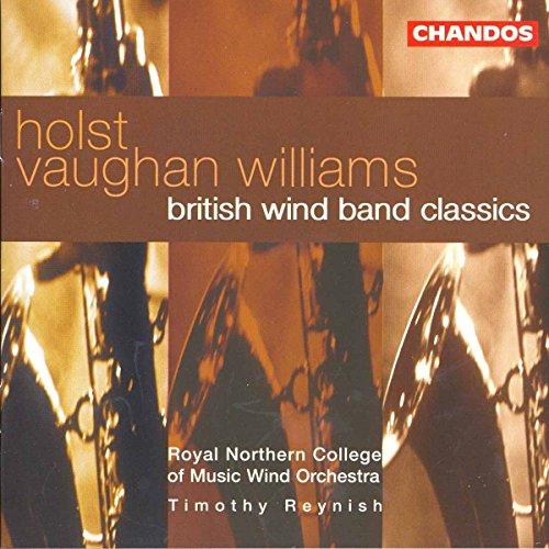 Holst Vaughan Williams British Wind Band Classics