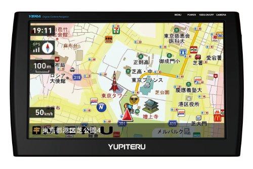 ユピテル (YUPITERU) ワンセグ内蔵オリジナルコンテンツ搭載ポータブルナビゲーション YEAR(イエラ) 7.0V型 YPB706si