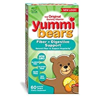 Hero Nutritional Products, Yummi Bears, Fiber, Natural Fruit Flavors, 60 Gummy Bears