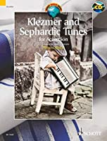 KLEZMER AND SEPHARDIC TUNES FOR ACCORDION 33 TRADITIONAL PIECES BOOK/CD (Schott World Music) by Unknown(2012-07-01)